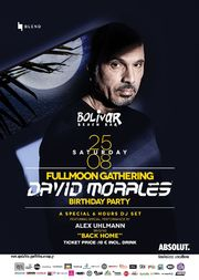 David Morales at Bolivar Beach Bar