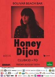 Honey Dijon at Bolivar Beach Bar