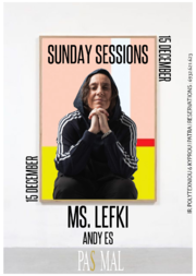 Ms. Lefki & Andy Es - Sunday Sessions at Pas Mal