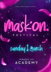 Mask on Festival at Piraeus 117 Academy