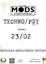 Techno/Psy Vol.2 at Mods Club