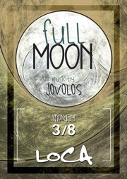 Full moon at Loca