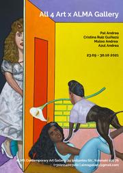 All 4 Art x στην Alma Gallery