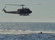 Χαλκιδική: Καρέ-καρέ η διάσωση με ελικόπτερο δύο αγνοούμενων (video)