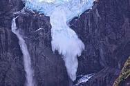 Ο εντυπωσιακός παγετώνας της Χιλής που... 'κρέμεται' (pics+video)