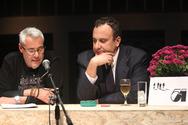 Πάτρα: 'Πλημμύρισε' από κόσμο η εκδήλωση για την παρουσίαση του νέου μυθιστορήματος του Χρήστου Χωμενίδη