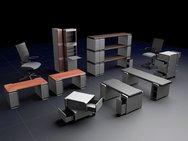 Σχεδιαστής κατασκευάζει έπιπλα από παλιούς υπολογιστές (pics)
