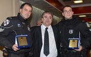 Πάτρα: Κώστας Πατέντας και Ανδρέας Κάππος - Οι δύο αστυνομικοί που σώζουν ζωές (pic)