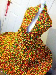 Ένα εκπληκτικό φόρεμα που μπορείς να το... φας (pics)
