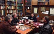 Πάτρα: Συνάντηση Νίκου Νικολόπουλου με το Σύλλογο Πρακτόρων ΟΠΑΠ