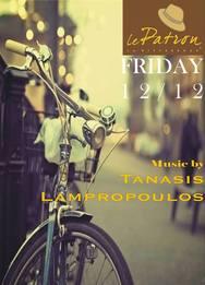 Ο Tanasis Lampropoulos στο Le Patron Bar