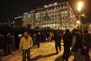 Άδειασε η πλατεία Συντάγματος από τους Σύρους πρόσφυγες!