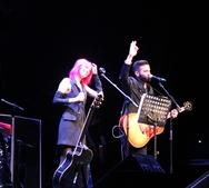 Ο Θ. Μαραντίνης των 'Onirama' σε live με τη νικήτρια του 'X-Factor 4' της Ιταλίας (pic+video)
