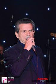Ρεβεγιόν Πρωτοχρονιάς με τον Γιώργο Μαργαρίτη στο Κέντρο Πατρών - Αρείων Live Stage 31-12-14 Part 1/2