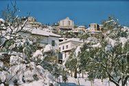 Αχαΐα: Με χιόνια τα Θεοφάνεια στην Δάφνη Καλαβρύτων