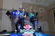 Ο Θάνος Καλλίρης και ο Λάμπης Λιβιεράτος 'απογείωσαν' το Winter Lake Party (pics)