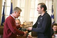 Πάτρα: Μαθητές και εκπαιδευτικοί από 5 Ευρωπαικές χώρες βρέθηκαν στο Δημαρχείο (pics)