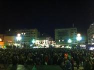 Πάτρα: Γέμισε από πάλι από κόσμο η Πλατεία Γεωργίου - Δείτε φωτογραφίες