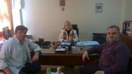 Πάτρα: Συνάντηση Αικ. Γατοπούλου με τον Π. Αναγνώστου και τον Γ. Γραμματίκα