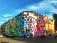 Η πολύχρωμη πολυκατοικία που εντυπωσιάζει! (pics)