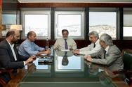 Συνάντηση του Βουλευτή Αχαΐας του Ποταμιού Ιάσονα Φωτήλα με τον Γιάννη Πανούση