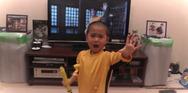 Ο 5χρονος Bruce Lee που σαρώνει στο διαδίκτυο (video)