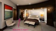 Μια νεροτσουλήθρα μέσα σε υπνοδωμάτιο! (pics)