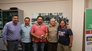 Πάτρα: Το προεδρείο του ΣΚΕΑΝΑ συναντήθηκε με τον πρόεδρο του Καρναβαλικού Οργανισμού