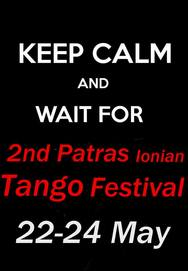 2nd Patras Ionian Tango Festival από την Tanguera Tango Argentino Patras στον Πολυχώρο 'Dancarte'