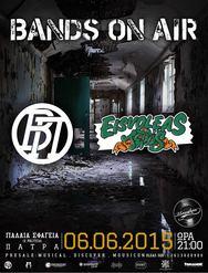Bands on Air - Βήτα Πεις - Εισβολέας & Tedds live στα Παλαιά Σφαγεία