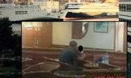 Άνδρας κρατούσε όμηρο γυναίκα με ένα σπασμένο ποτήρι στο 'Κρήτη-2' (video)