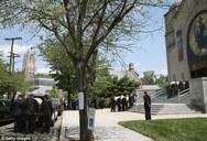 Θρήνος στην κηδεία της οικογένειας Σαββόπουλου στις ΗΠΑ (pics)