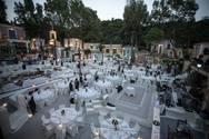 Χάραμα - Στο χώρο με τα 'χίλια' χρώματα έγινε ένας απίστευτος vintage γάμος!