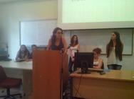 Συμμετοχή εκπροσώπων του ΗΒΗ και του ΣΟΨΥ στην παρουσίαση δράσεων των σπουδαστών του ΑΤΕΙ Πάτρας