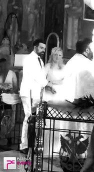 """Μπήκε και η """"κουλούρα"""" για τον Άγγελο Χριστόπουλο και την Ερατώ Παρδαλάκη! (pics+video)"""