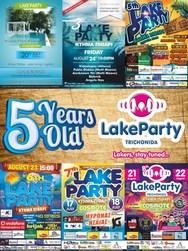 'Lake Party 2015' στο Κτήμα Πιθάρι