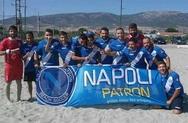 Η Νάπολη Πατρών στους «4» του Πανελλήνιου Πρωταθλήματος Beach Soccer