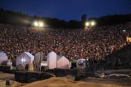 Γεμάτο το αρχαίο θέατρο της Επιδαύρου - 18.000 θεατές είδαν τις ''Εκκλησιάζουσες'' (pics)