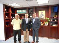 Συνάντηση του Αντιπεριφερειάρχη Π.Ε. Αχαΐας με τον Πρέσβη της Ουκρανίας