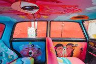 Εντυπωσιακά ζωγραφισμένα ταξί στη... Βομβάη! (pics)