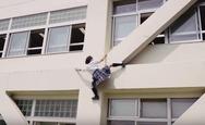 Η μικρή Γιαπωνέζα που άργησε να πάει στο μάθημα (video)