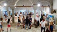 Ναύπακτος: Ολοκληρώνεται η έκθεση ζωγραφικής στο Φετιχέ Τζαμί