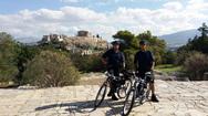 Αστυνομικοί με ηλεκτροκίνητα ποδήλατα στους δρόμους της Αθήνας (pics)