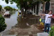 Πάτρα: Δυνατή βροχή, ξυπνά τον φόβο νέων πλημμύρων!