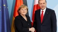 Η Μέρκελ στην Τουρκία - Οι διαπραγματεύσεις με τον Ερντογάν (pics)