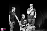 Απολαυστικοί Maliatsis, Mikeius & Jeremy στο θέατρο Act! (pics)