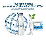 Διεθνής διάκριση για το Φυσικό Μεταλλικό Νερό ΑΥΡΑ και την Coca-Cola Τρία Έψιλον