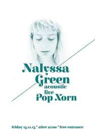 Nalyssa Green Live στο Ποπ Χορν