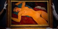 ''Ξαπλωμένο γυμνό'': Ο πίνακας του Μοντιλιάνι που πωλήθηκε 158 εκατ. ευρώ! (pics)
