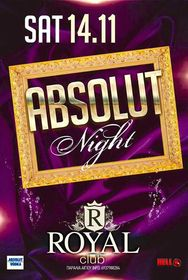 Absolut Night στο Royal Club